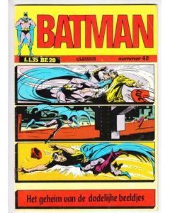 BATMAN CLASSICS: 042: GEHEIM VAN DE DODELIJKE BEELDJES