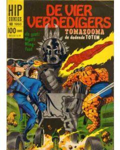 HIP COMICS: 1993: DE VIER VERDEDIGERS, TOOMAZOOMA DE DODENDE TOTEM